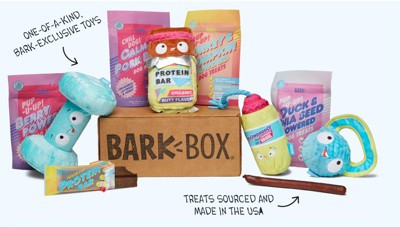 what comes in a BarkBox